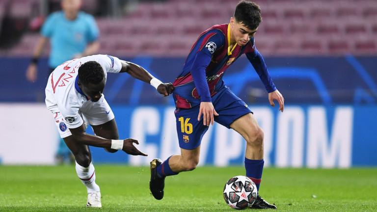 Педри ще пропусне мачовете на Барселона през този месец.Младата звезда
