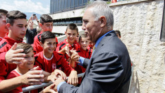 Стоичков не коментира случващото се в ЦСКА, защото...