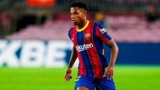 Преговорите между Ансу Фати и Барселона протичат оптимистично