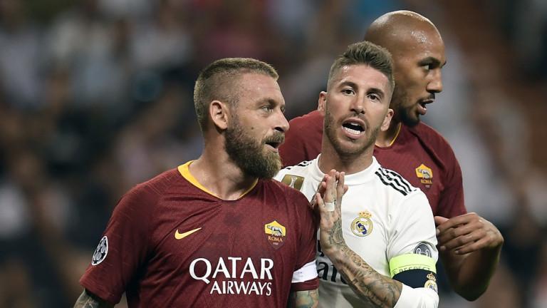 Капитанът на Рома - Даниеле Де Роси коментира загубата на