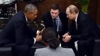 Путин и Обама очи в очи. Какво си казаха?