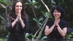 Анджелина Джоли с първа официална поява след раздялата (СНИМКИ)