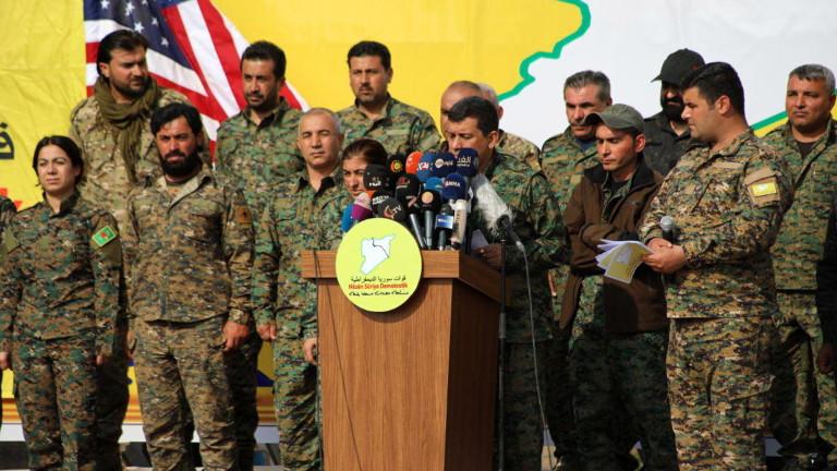 Кюрдски командир благодари на Русия, че е спасила кюрдите от