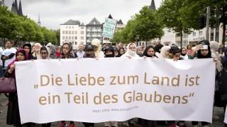 Хиляди мюсюлмани събра мирният поход в Кьолн