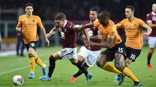 Уулвс победи Торино в най-очакваната битка от Лига Европа