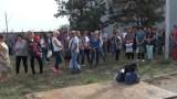 "Спонтанен протест на стотици служители на ""Винпром Карнобат"""