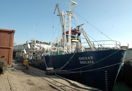 С европари режем за скрап най-големия риболовен кораб у нас