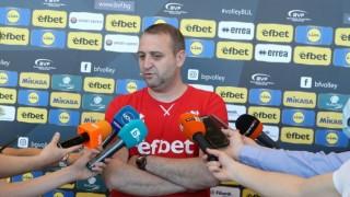 Иван Петков: Целта ни е да изградим отбор, който да се бие с тимовете от Топ 6