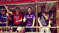 Марк Зукърбърг поведе гейпарада в Сан Франциско