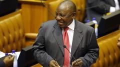 Сирил Рамафоза е новият президент на ЮАР