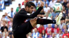 Алваро Мората иска да завърши кариерата си в Атлетико (Мадрид)