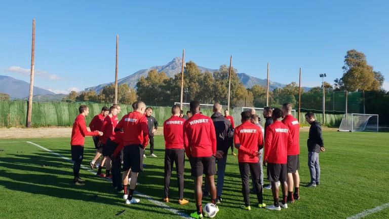 Спортно-техническото ръководство на ЦСКА- вече работи по подготовката за новия