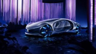 """Новият автомобил на Mercedes няма волан и е вдъхновен от филма """"Аватар"""""""