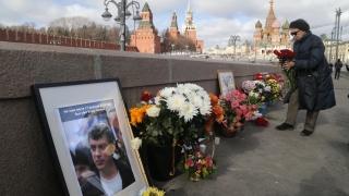Руските власти разтуриха мемориала на Немцов на лобното му място