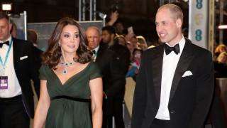 Бременната Кейт Мидълтън на наградите БАФТА