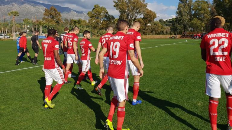 Младият полузащитник на ЦСКА Валентин Антов започна като титуляр в