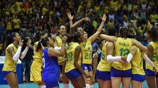 Волейболистките на Бразилия с титла №21 от шампионати на Южна Америка