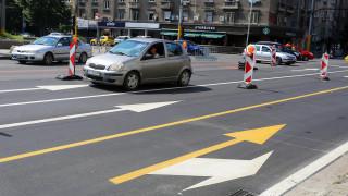 Поставят колчета за безопасност до пешеходни пътеки в София