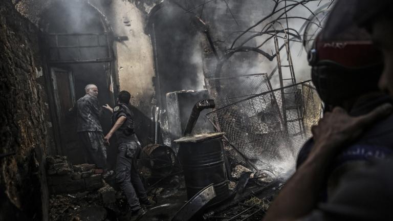 Сирийските бунтовници с нова офанзива в Дамаск