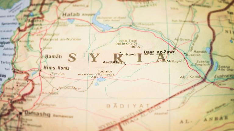 Примирие в Сирия