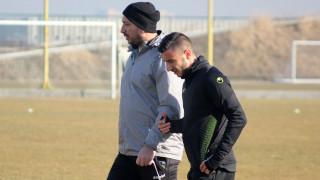 Антон Карачанаков с първа тренировка в Ботев (Пловдив)