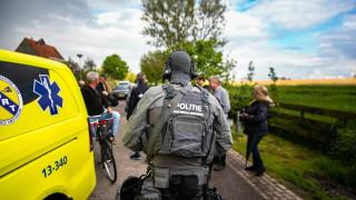 Обир, преследване и престрелки в нивите на Нидерландия