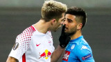 Един гол не достигна на Наполи, за да елиминира РБ Лайпциг