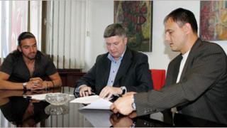 Благой Георгиев подписа с Цървена звезда