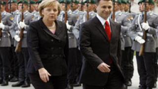 Македонският премиер лобира за подкрепата на Берлин