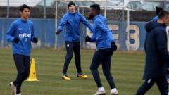 Левски тренира усърдно за сблъсъка в неделя