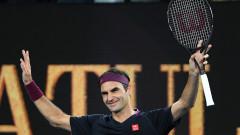 Експресна победа за Федерер срещу Джонсън на старта на Australian Open 2020