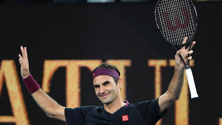 Роджър Федерерзапочна успешно участието си на Откритото първенство на Австралия.