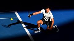 Григор Димитров стартира похода си на Australian Open в понеделник рано сутрин