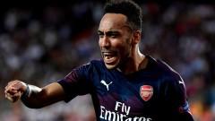 Валенсия - Арсенал 2:4, хеттрик на Обамеянг!