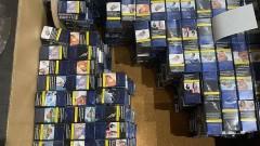 Задържаха 131 500 къса цигари в пратка за Великобритания