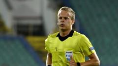 Арестуваха съдията, изгонил Чорбаджийски в мача ЦСКА - ФК Копенхаген