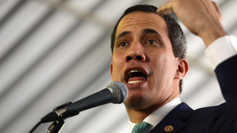 Самопровъзгласилият се за президент на Венецуела Хуан Гуайдо заяви,че признавапредставителят