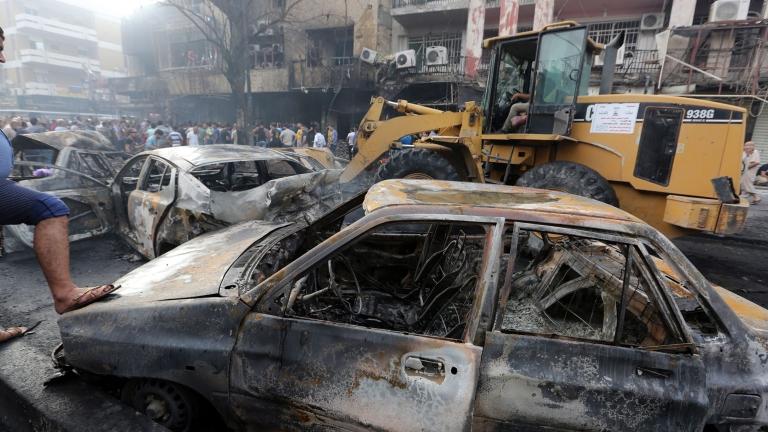 """""""Ислямска държава"""" изби 7 души с кола бомба в Багдад"""