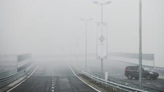 """Мокри пътища, мъгла, ремонти по магистрала """"Тракия"""""""