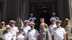 Контраадмирал Митко Петев се срещна с командващия Шести американски флот
