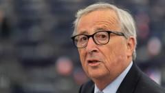 """Затварянето на вътрешните граници на ЕС е """"глупост"""", вярва Юнкер"""