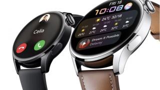 Huawei Watch 3 идва с нов дизайн, eSIM и HarmonyOS
