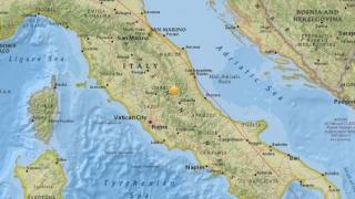 Три силни земетресения в Рим и околностите