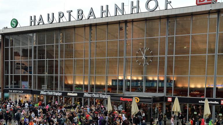 Полицията в германския град Кьолн обяви, че е затворила части