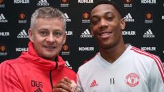 Манчестър Юнайтед няма намерение да се разделя с Антони Марсиал