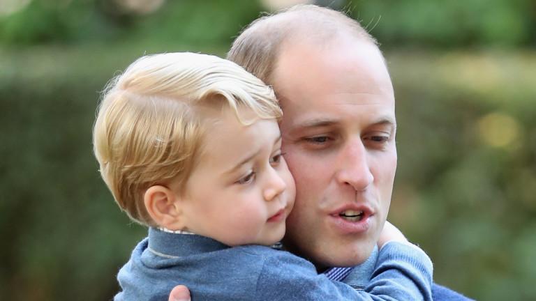 Принц Джордж от Кеймбридж може да е най-известното кралска дете