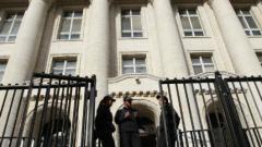 Сигнал за бомба в Съдебната палата отложи мярката на автоджамбазина Ярослав