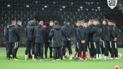 ЦСКА проведе официална тренировка в Берн