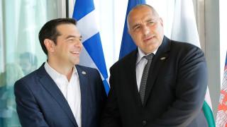Борисов се срещна с премиера на Гърция Алексис Ципрас