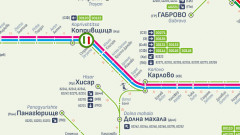 Възстановяват движението на влаковете в участъка между гарите Карлово и Антон